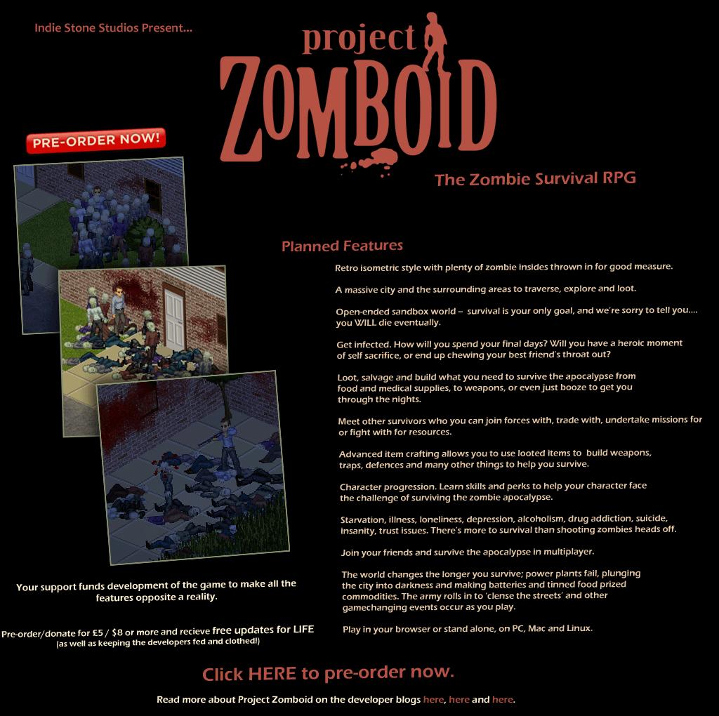 project zomboid. survival +multi